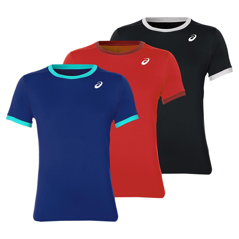 Men's Club Short Sleeve Tennis Top