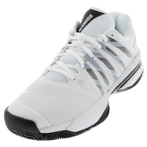 Men`s Ultrashot 2 Tennis Shoes White and Black