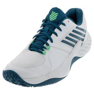 Men`s Aero Court Tennis Shoes White and Corsair