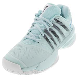 Women`s Ultrashot 2 Tennis Shoes Pastel Blue and Black