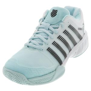 Juniors` Hypercourt Express Tennis Shoes Pastel and Black