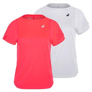 Women`s Practice Short Sleeve Tennis Top