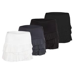 Women`s Hi-Pleated Scallop Tennis Skort