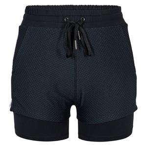 Women`s Rivka 4 Inch Tennis Short Onyx