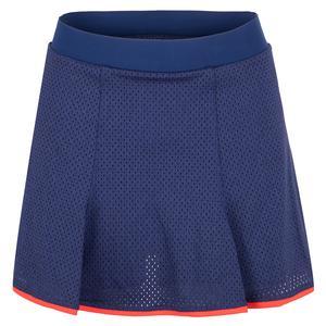 Women`s Kynlee 13.5 Inch Tennis Skort Blue Depths
