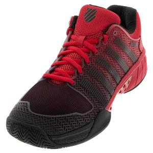 Men`s Hypercourt Express Tennis Shoes Lollipop and Black