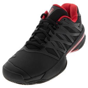 Men`s Ultrashot 2 Tennis Shoes Black and Lollipop