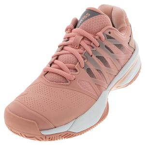 Women`s Ultrashot 2 Tennis Shoes Coral Almond and Plum Kitten