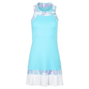 Women`s Racerback Tennis Dress Babyboy and White