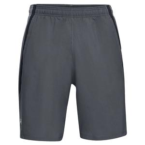 Men`s Launch Stretch-Woven 9 Inch Short Pitch Gray