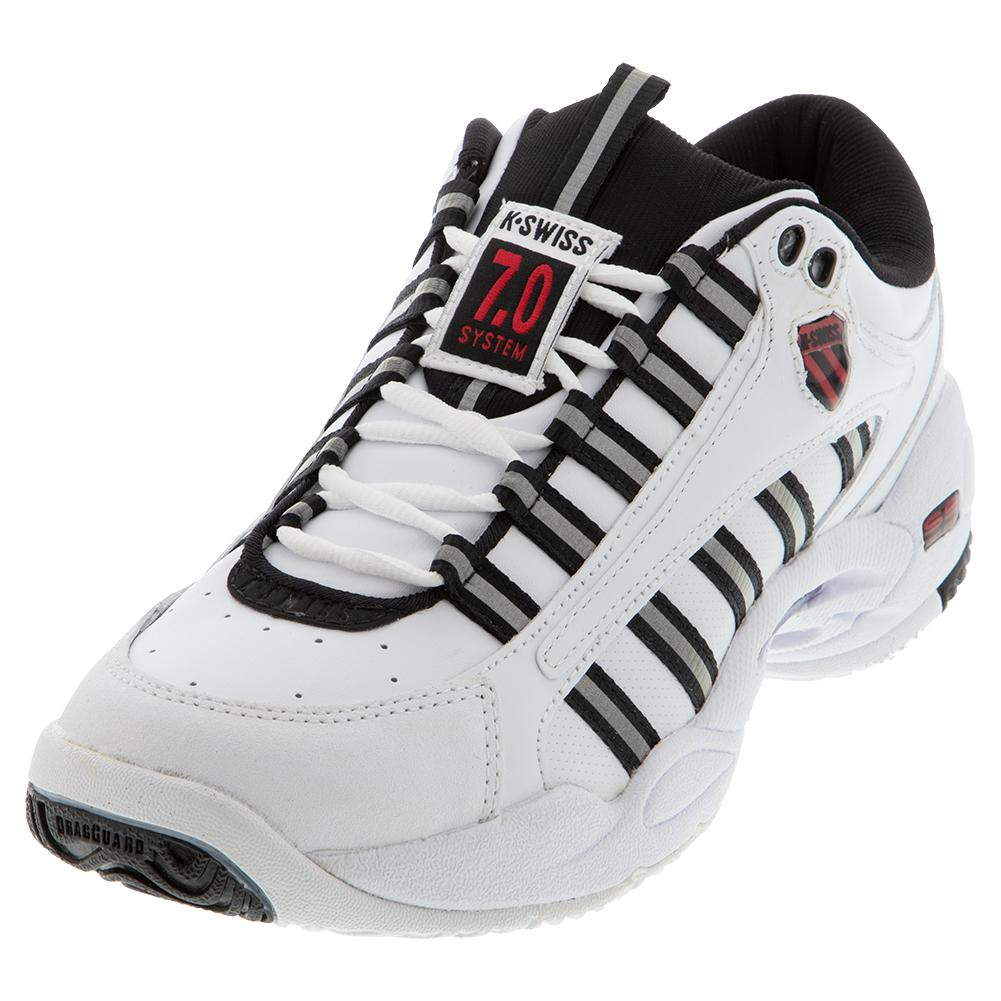 Men's Ultrascendor Tennis Shoes White And Black