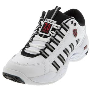 Men`s Ultrascendor Tennis Shoes White and Black