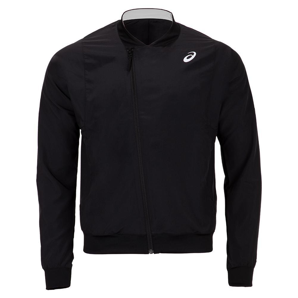 Men's Practice Tennis Jacket Performance Black