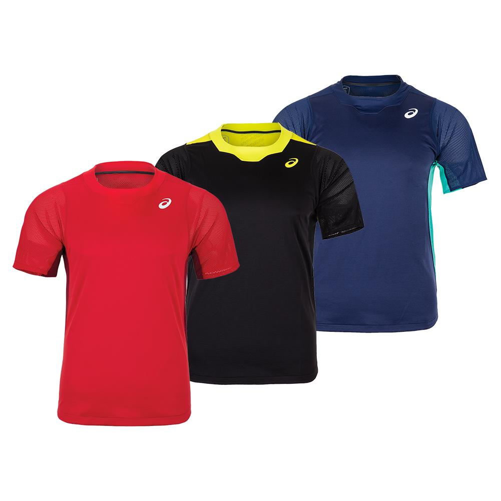 Men's Gel- Cool Short Sleeve Tennis Top