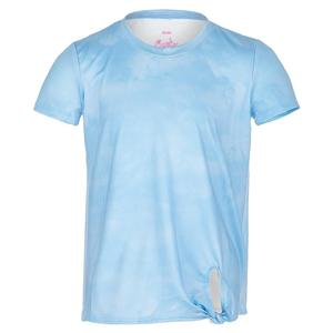 Girls` Tie Knot Tennis Top