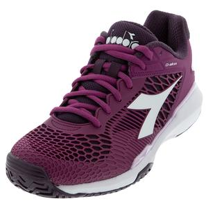 Women`s Speed Competition 5 AG Tennis Shoes Boysenberry and Perfect Plum