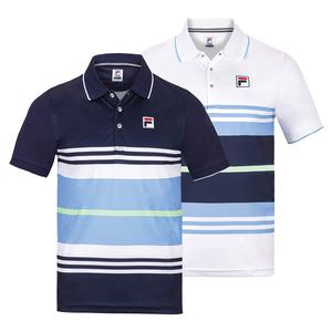Men`s Legend Striped Tennis Polo