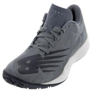 Men`s 896v3 D Width Tennis Shoes Grey and Pigment