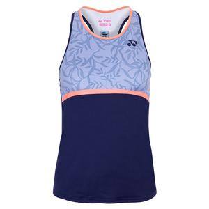 Women`s New York Tank Tennis Top Saxe