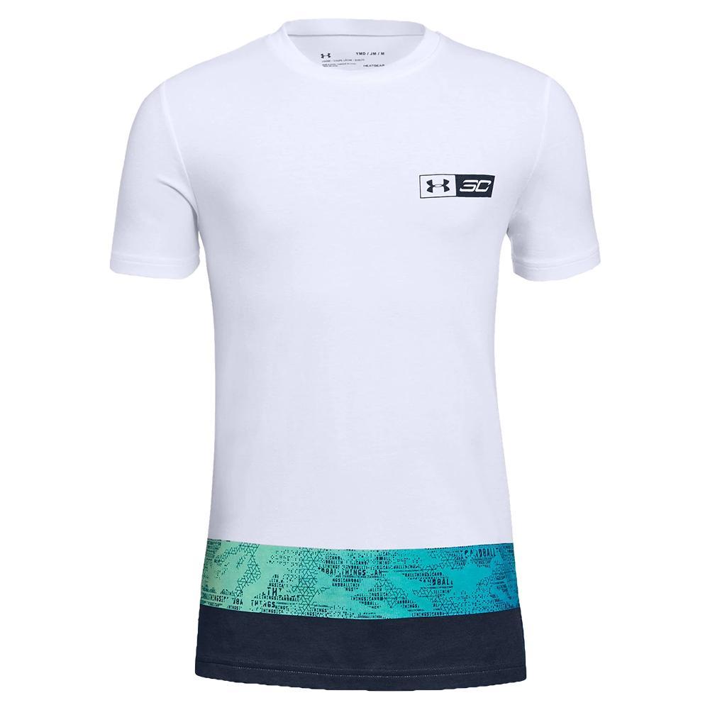 Boys'sc30 All Around Short Sleeve Top White