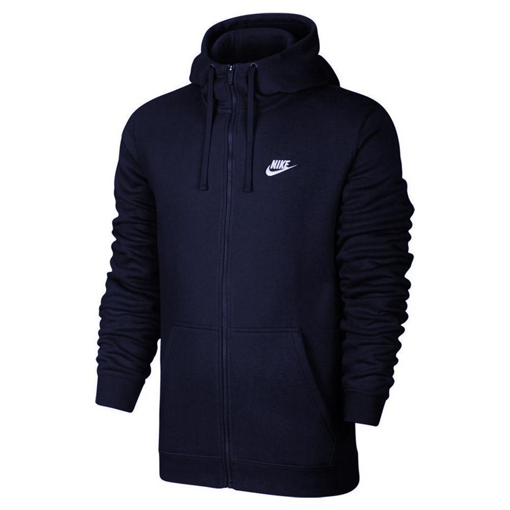 Nike Men`s Sportswear Club Full Zip Hoodie | Tennis Express
