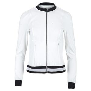 Women`s Cruz Knit Tennis Jacket Chalk