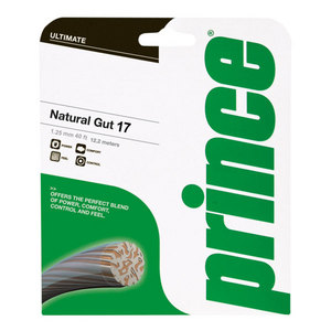 PRINCE NATURAL GUT 17G STRINGS
