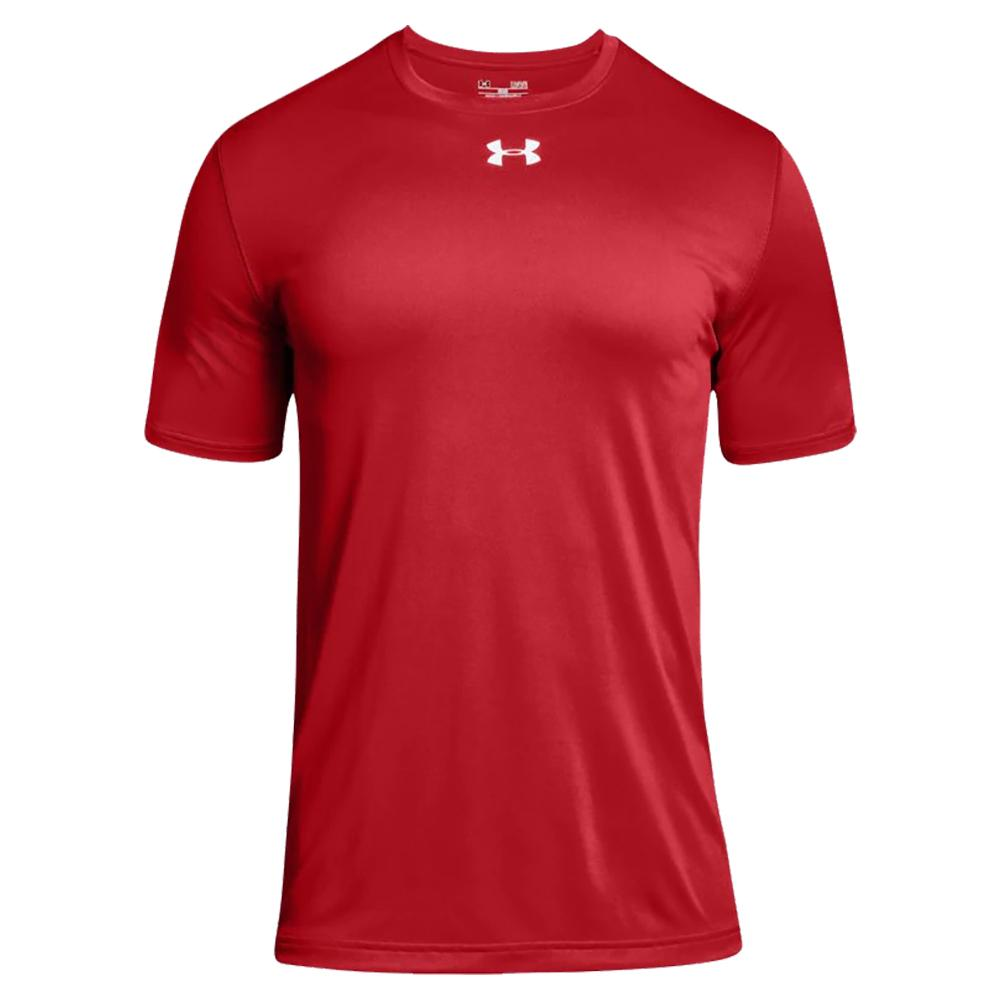 Under Armour Men/'s UA Tech T-Shirt Coral//Steel S
