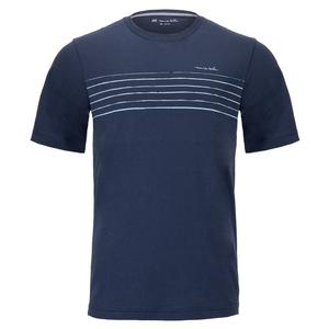 Men`s Know What I Mean Tennis T-Shirt Mood Indigo