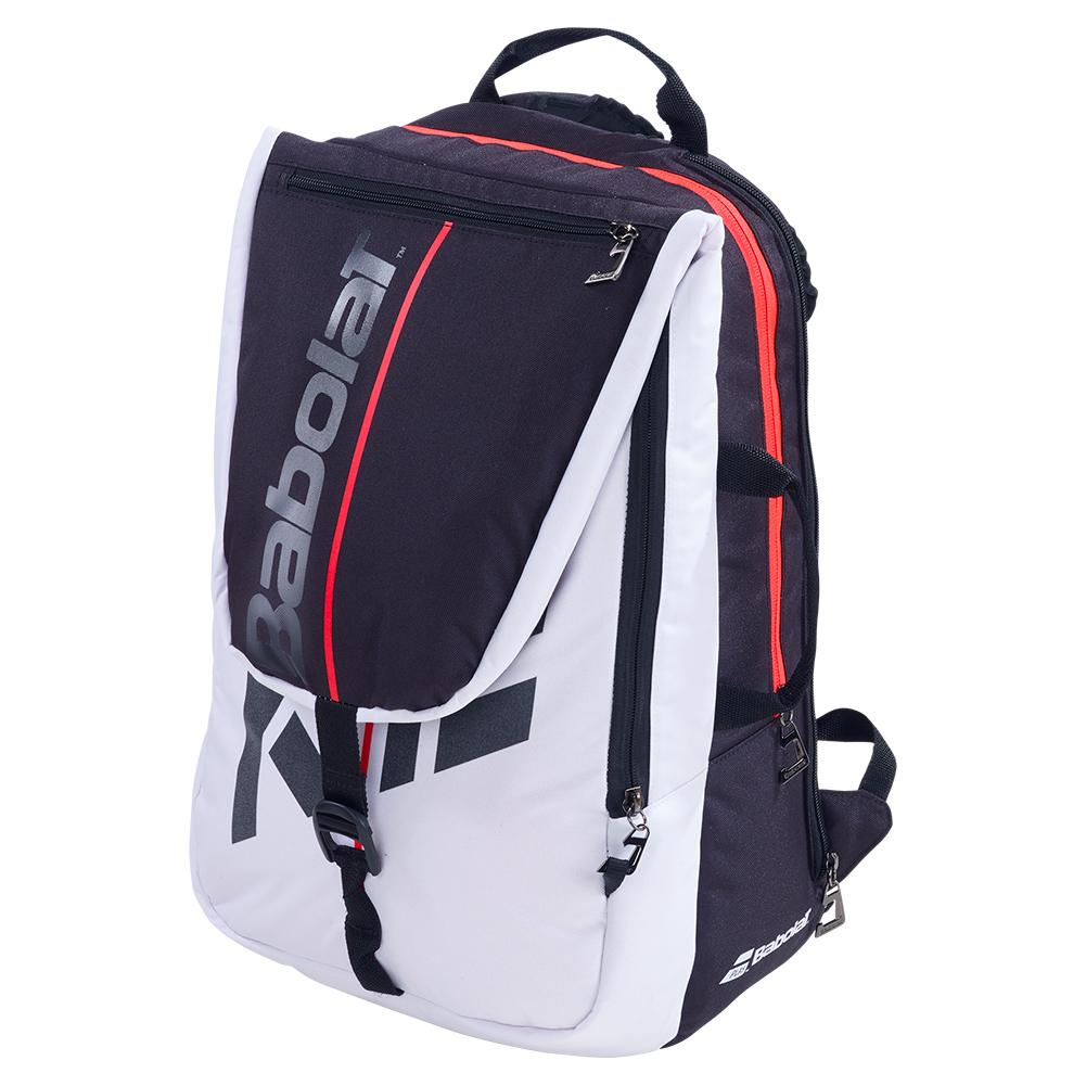 Pure Strike Tennis Backpack Red And White