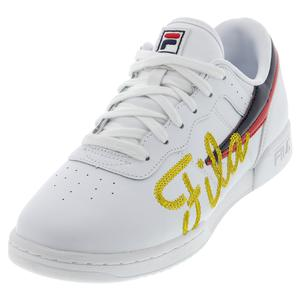 Women`s Original Fitness Signature 2 Shoes White and Gold