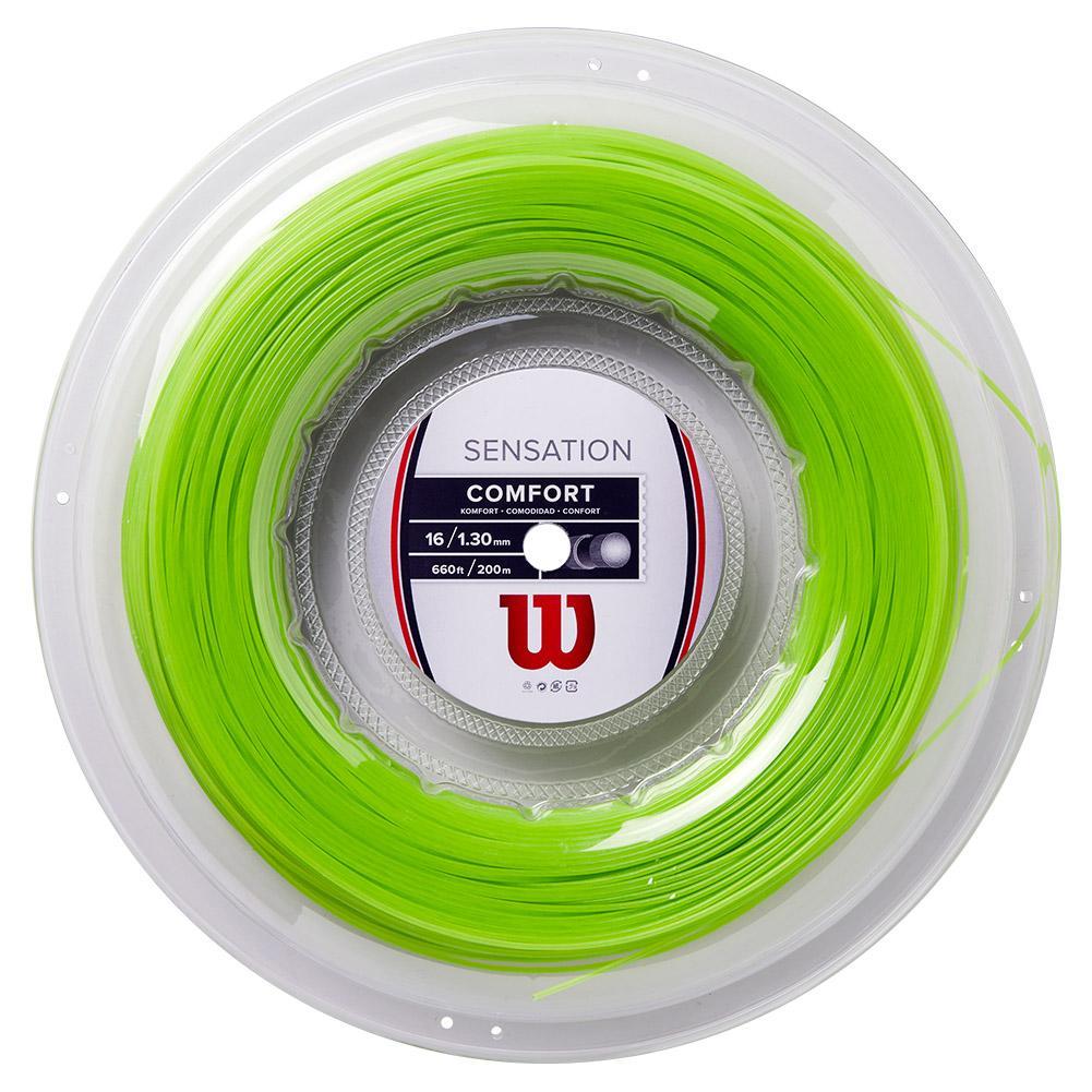 Sensation 16g Neon Green Tennis String Reel