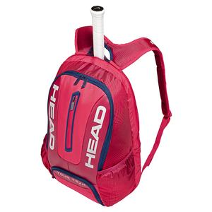 Tour Team Tennis Backpack Raspberry and Navy