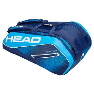 Tour Team 12R Monstercombi Tennis Bag Navy and Blue