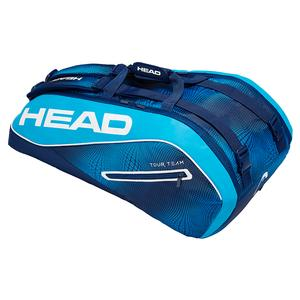 Tour Team 9R Supercombi Tennis Bag Navy and Blue