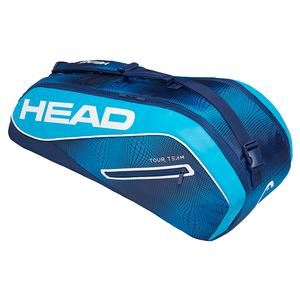 Tour Team 6R Combi Tennis Bag Navy and Blue