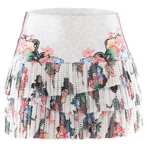 Women`s Hi-Print Pleated Tennis Skort