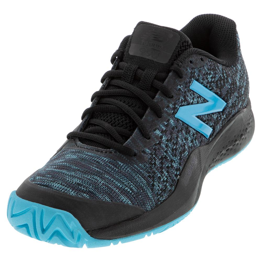 Women's 996v3 B Width Tennis Shoes Black And Bayside