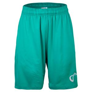 Boys` Legacy Knit Tennis Short Match Green