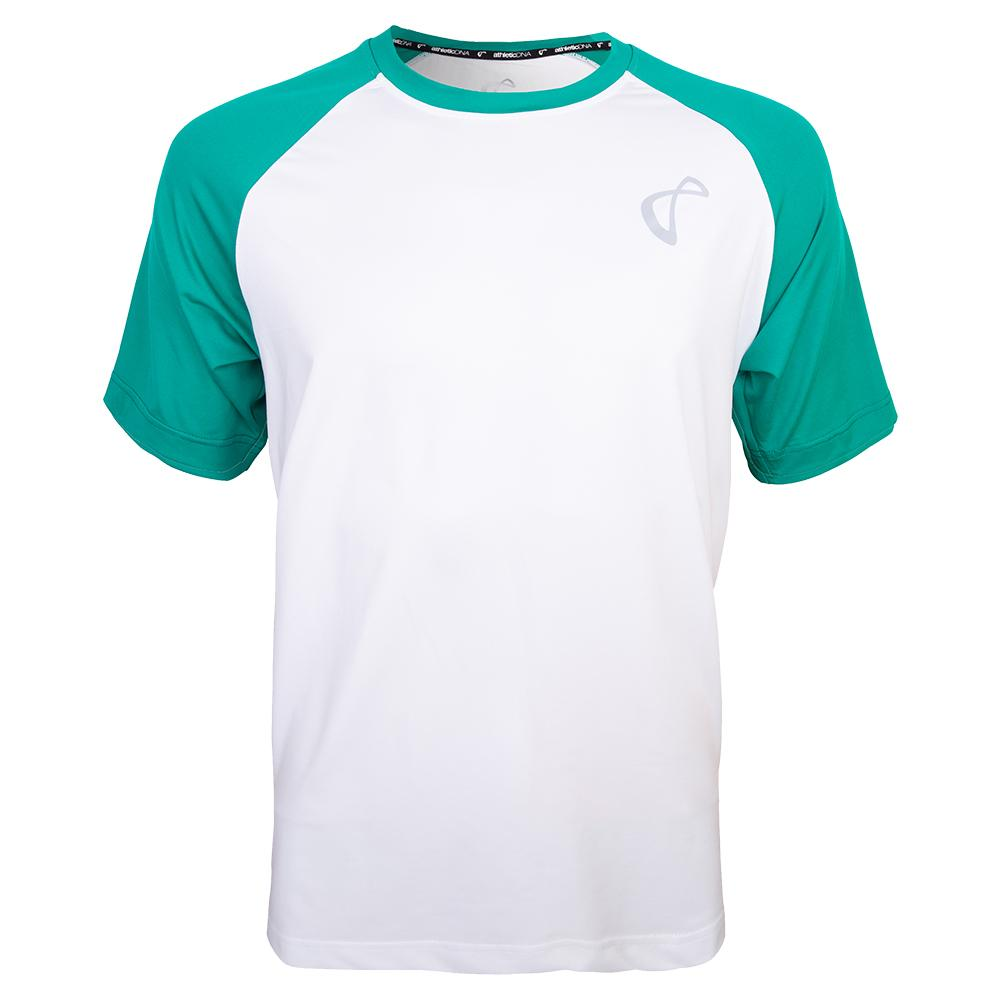 Men's Legend Training Crew White And Match Green