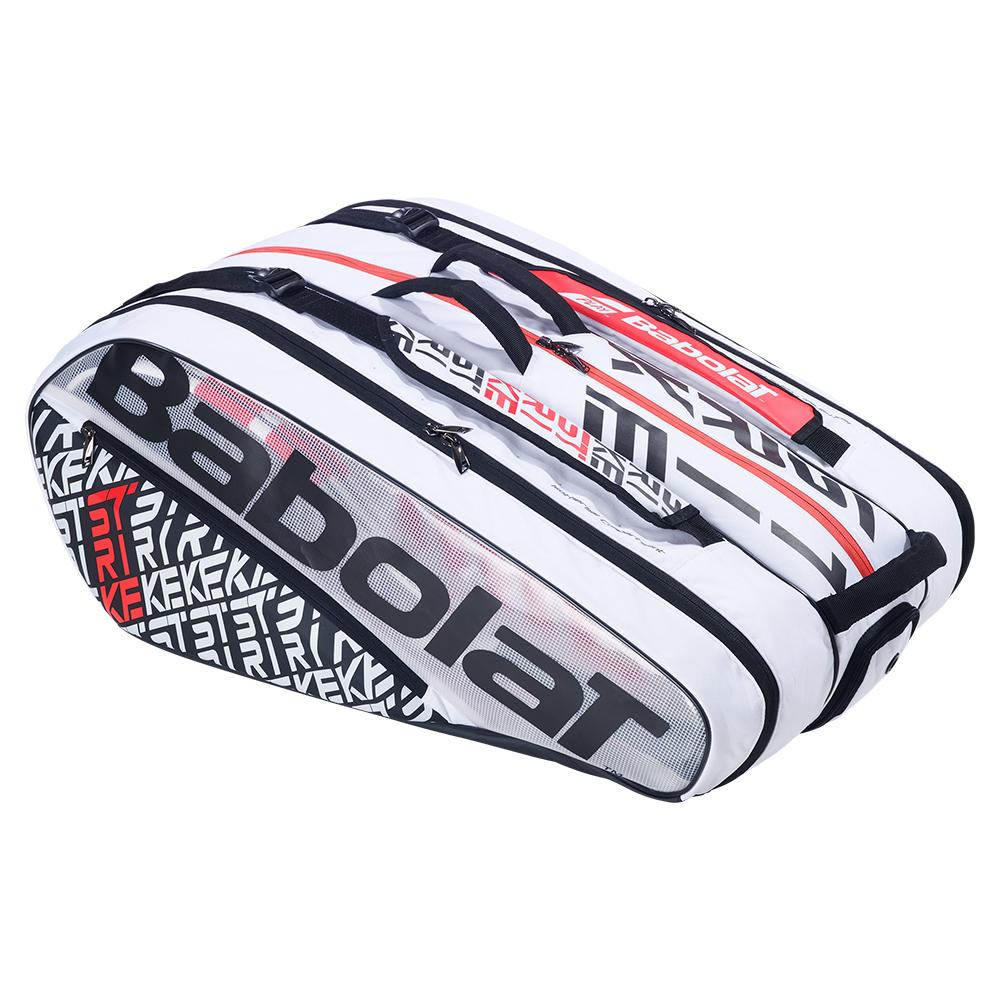 Pure Strike X12 Racquet Holder Tennis Bag Red And White