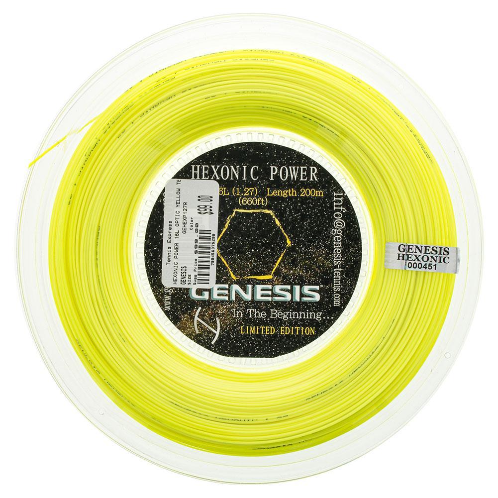 Hexonic Power 16l Optic Yellow Tennis String Reel