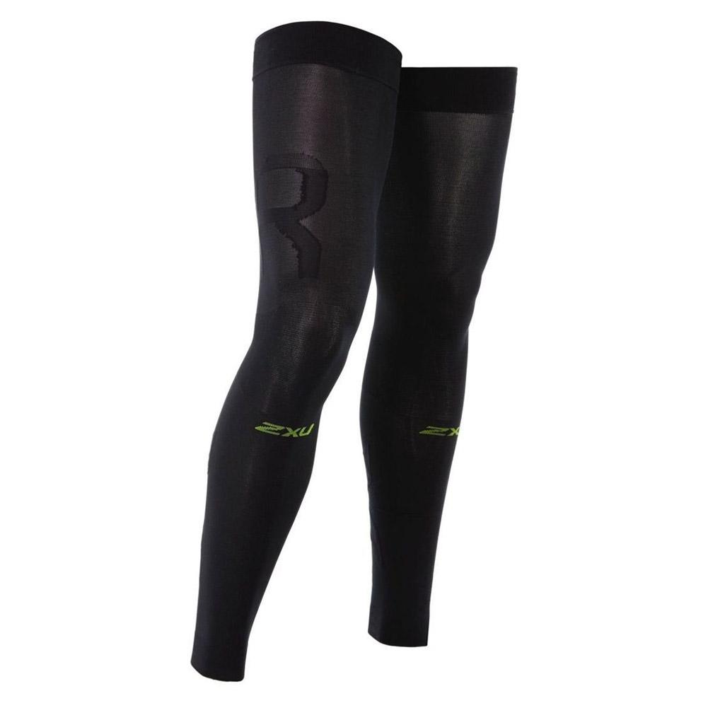 Recovery Flex Leg Sleeves Black And Nero
