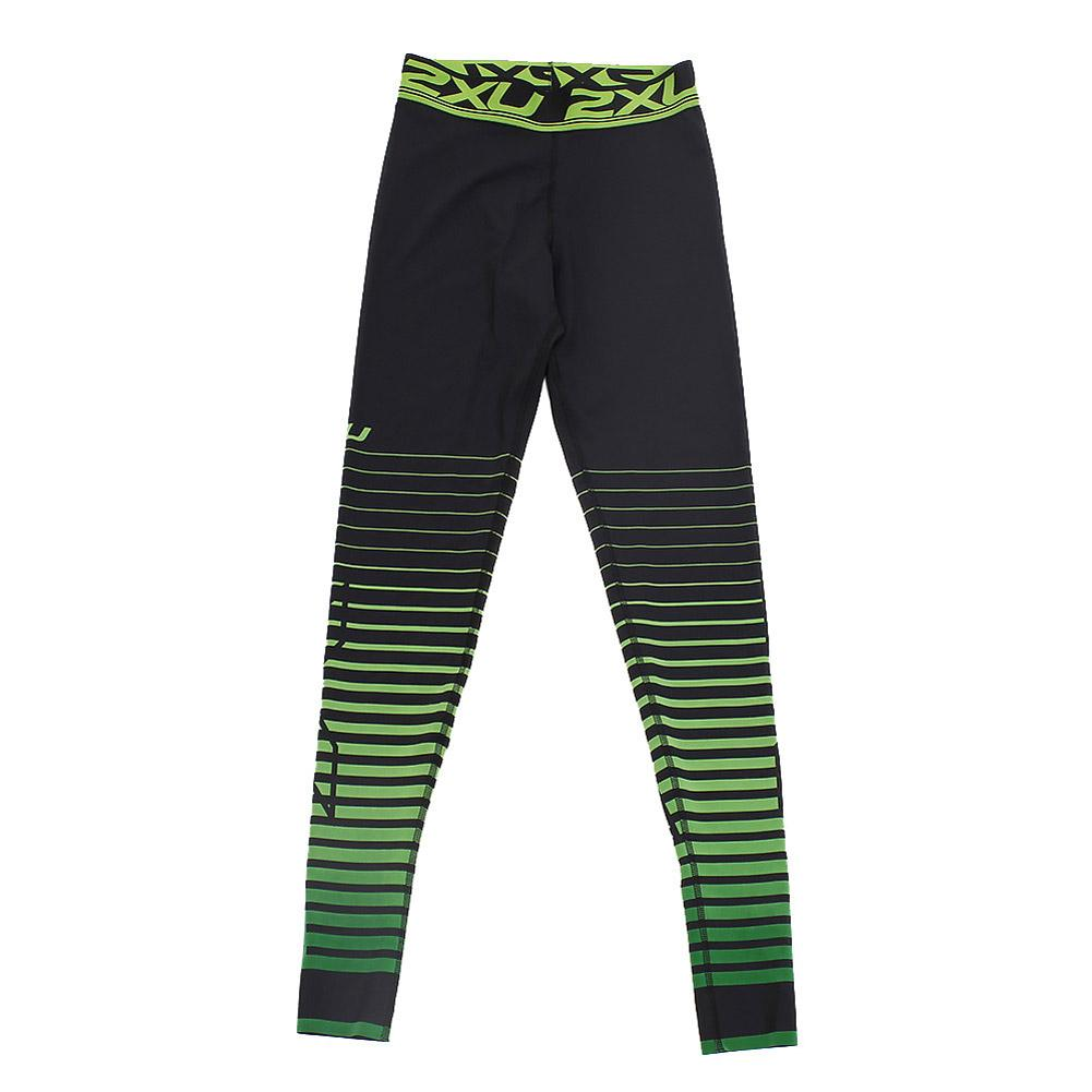 Women's Power Recovery Compression Tights Black And Green