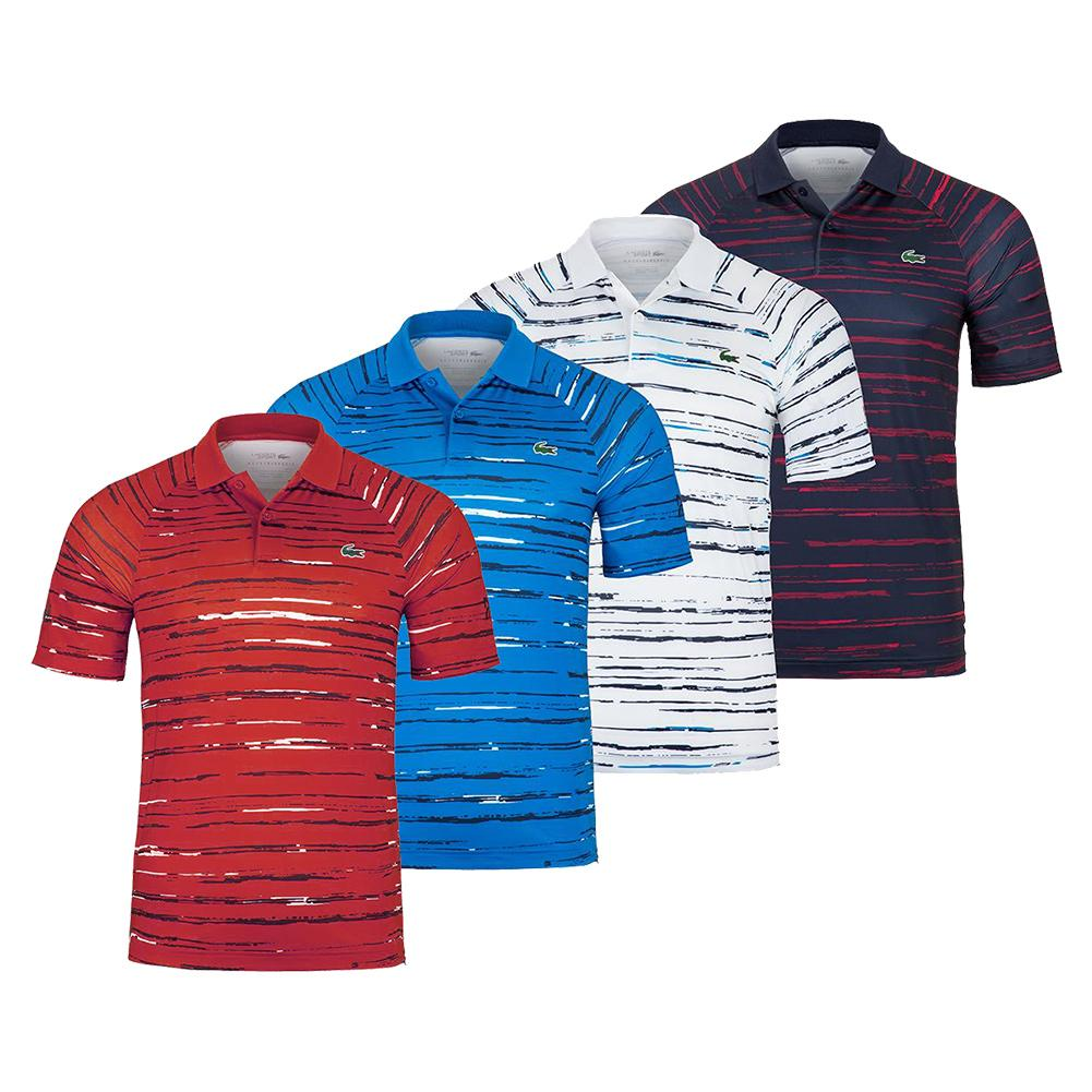 Lacoste Boys Sport Novak Djokovic All Over Print Polo Shirt