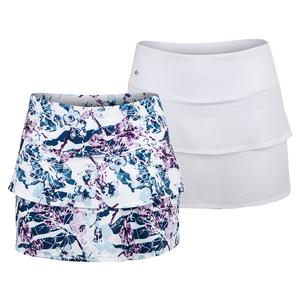 Women`s English Garden 13 Inch Tennis Skort