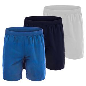 Men`s Novak Djokovic Stretch Woven 7 Inch Tennis Short