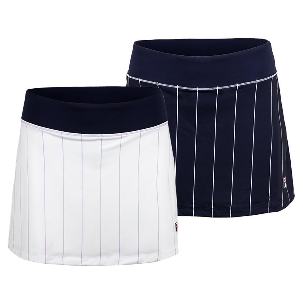 Women's Heritage Stripe 13.5 Inch Tennis Skort