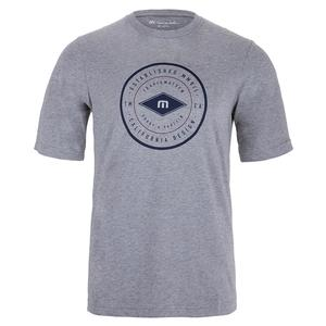 Men`s Beuchler Tennis T-Shirt Heather Grey