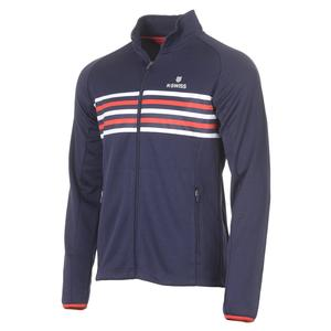 Men`s Heritage Tennis Tracksuit Jacket Navy
